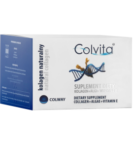 Kolagen Colvita - Kolagen naturalny Colway w kapsułkach 60 szt.
