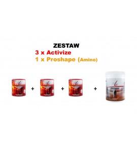 Zestaw FitLine: Aminokwasy + 3xActivize