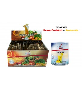 Fitline Optimal-Set (PowerCocktail + Restorate)