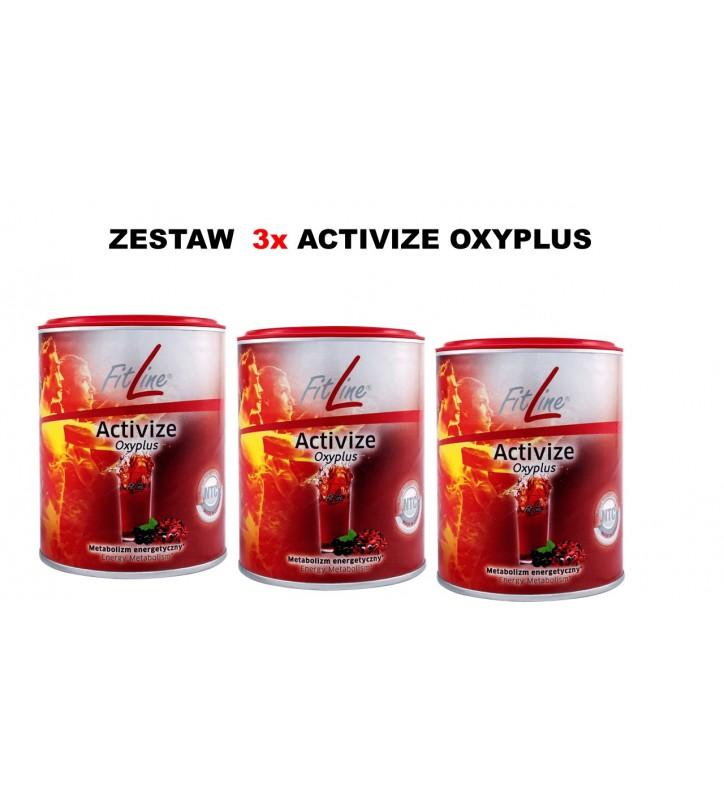 Fitline Zestaw  3x Activize Oxyplus - witaminy z grupy B