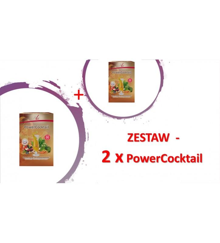 FitLine Zestaw 2x PowerCocktail (saszetki)