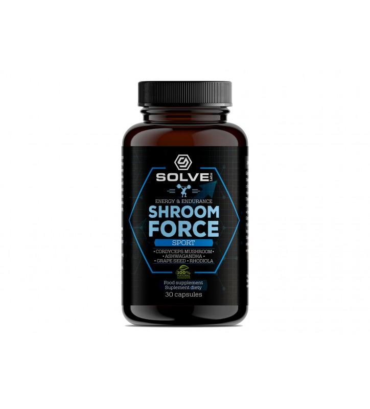 SHROOM FORCE - CORDYCEPS SINENSIS ATP PRE-WORKOUT