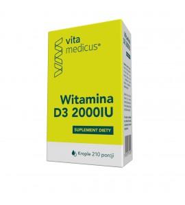 Witamina D3 2000 IU krople